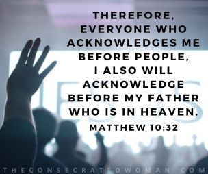 Matthew 10 32