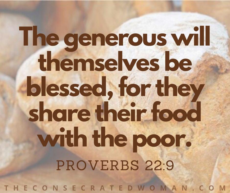 Proverbs 22 9