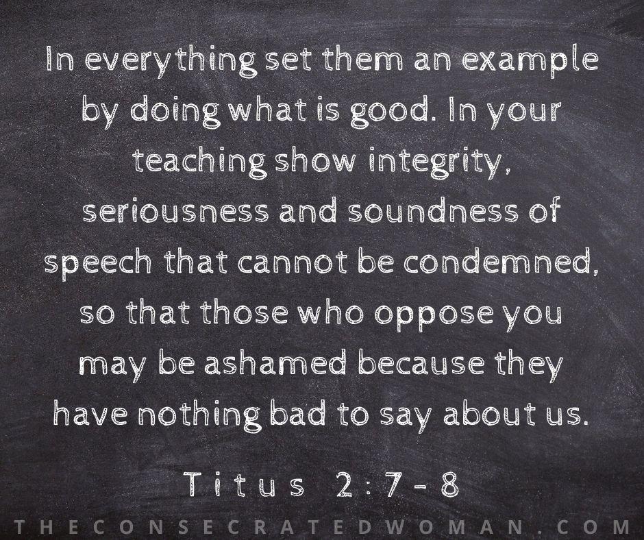 Titus 2 7-8
