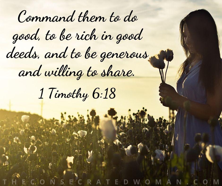 1 Timothy 6 18