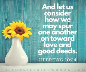 Hebrews 10 24 3