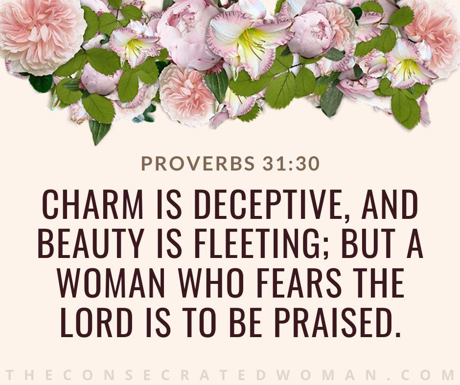 Proverbs 31 30 2