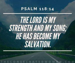 Psalm 118 14