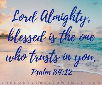 Psalm 84 12
