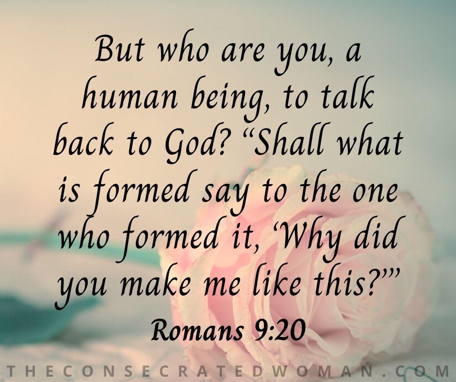 Romans 9 20 2