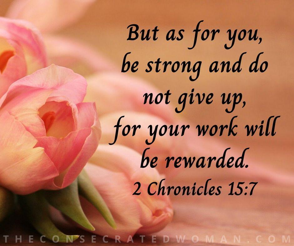 2 Chronicles 15 7 3