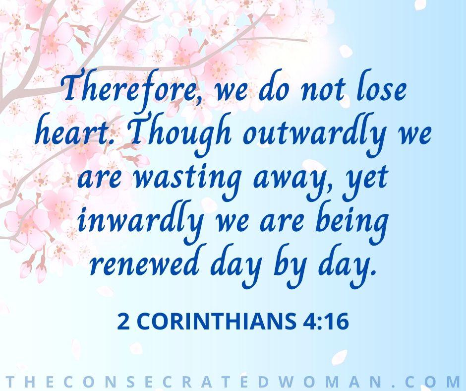 2 Corinthians 4 16 2