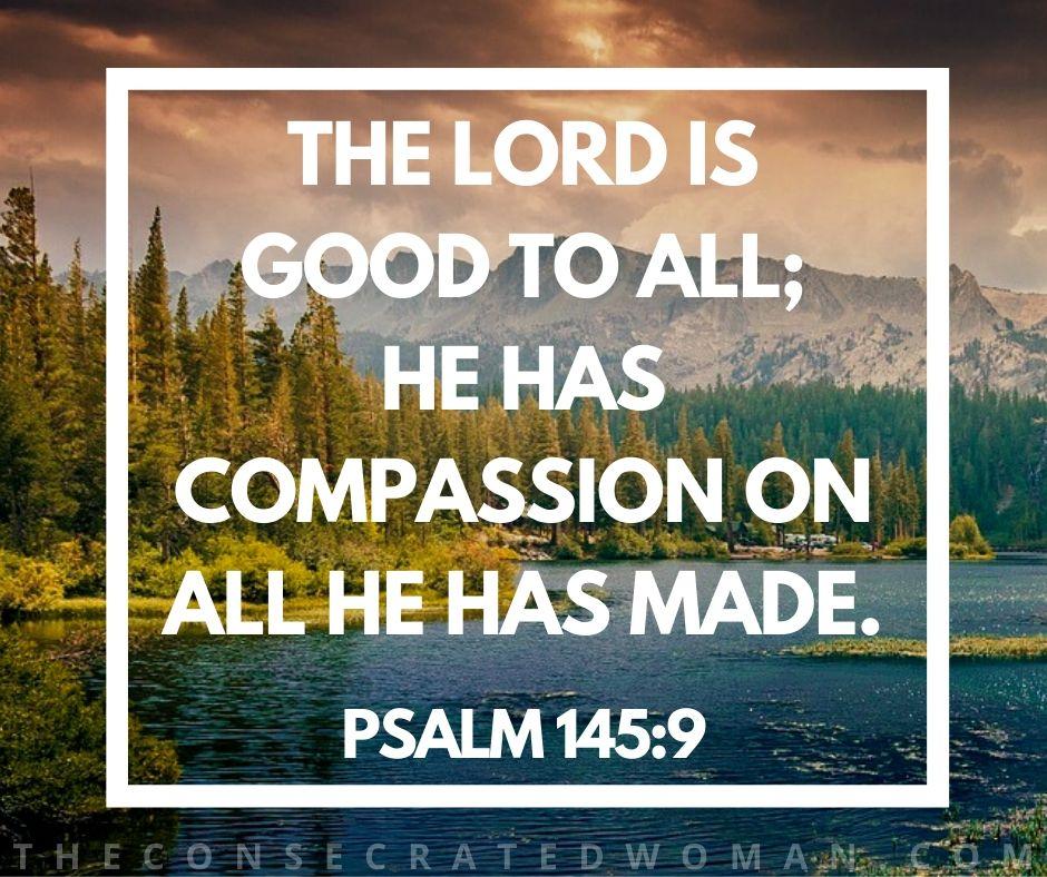 Psalm 145 9