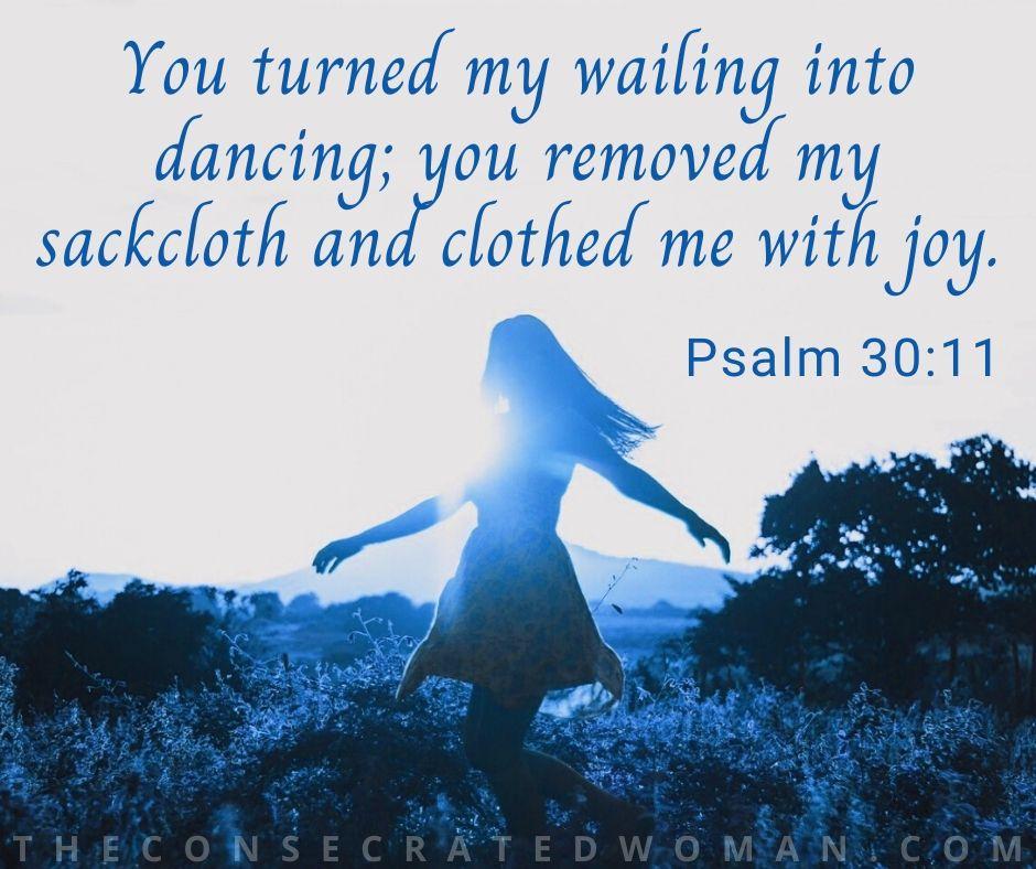 Psalm 30 11