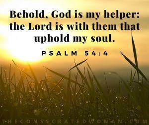 Psalm 54 4