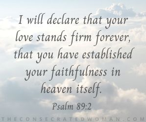 Psalm 89 2