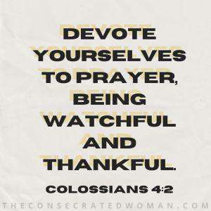Colossians 4 2 3