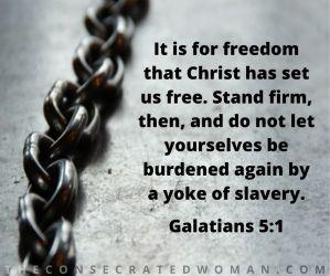 Galatians 5 1