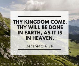 Matthew 6 10