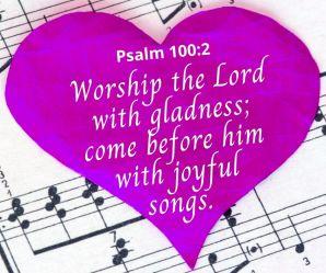 Psalm 100 2