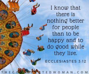 Ecclesiastes 3 12