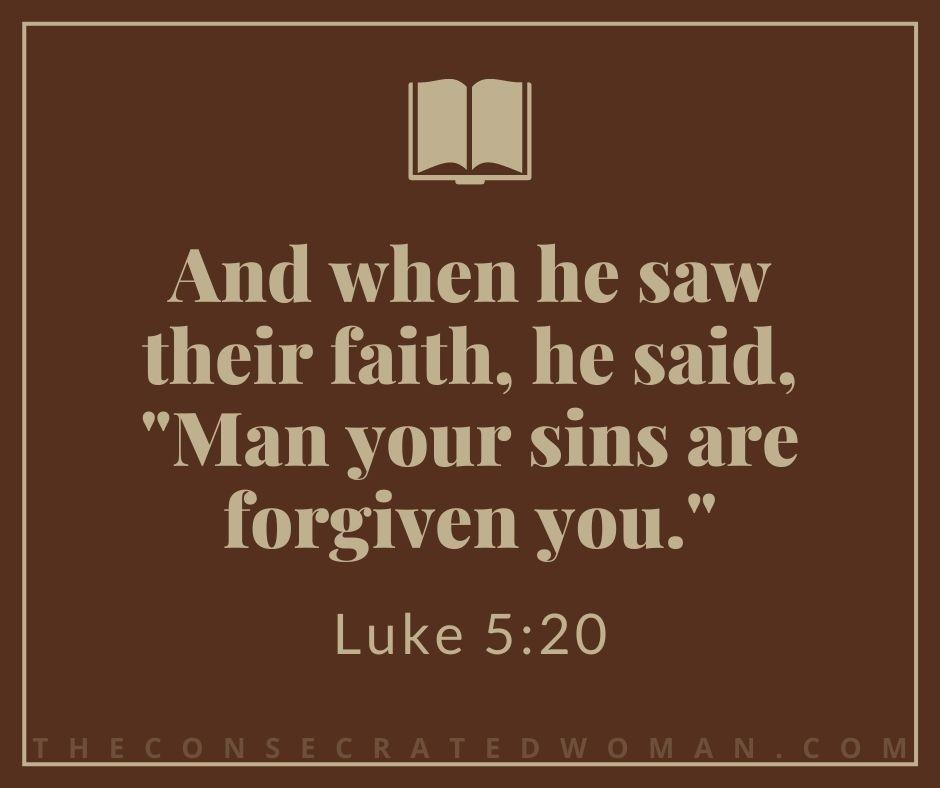 Luke 5 20 2
