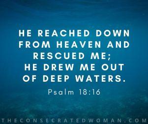 Psalm 18 16