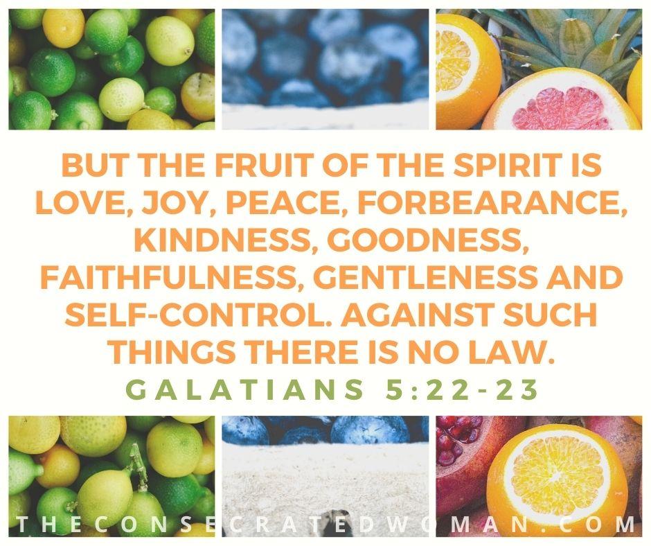 Galatians 5 22-23