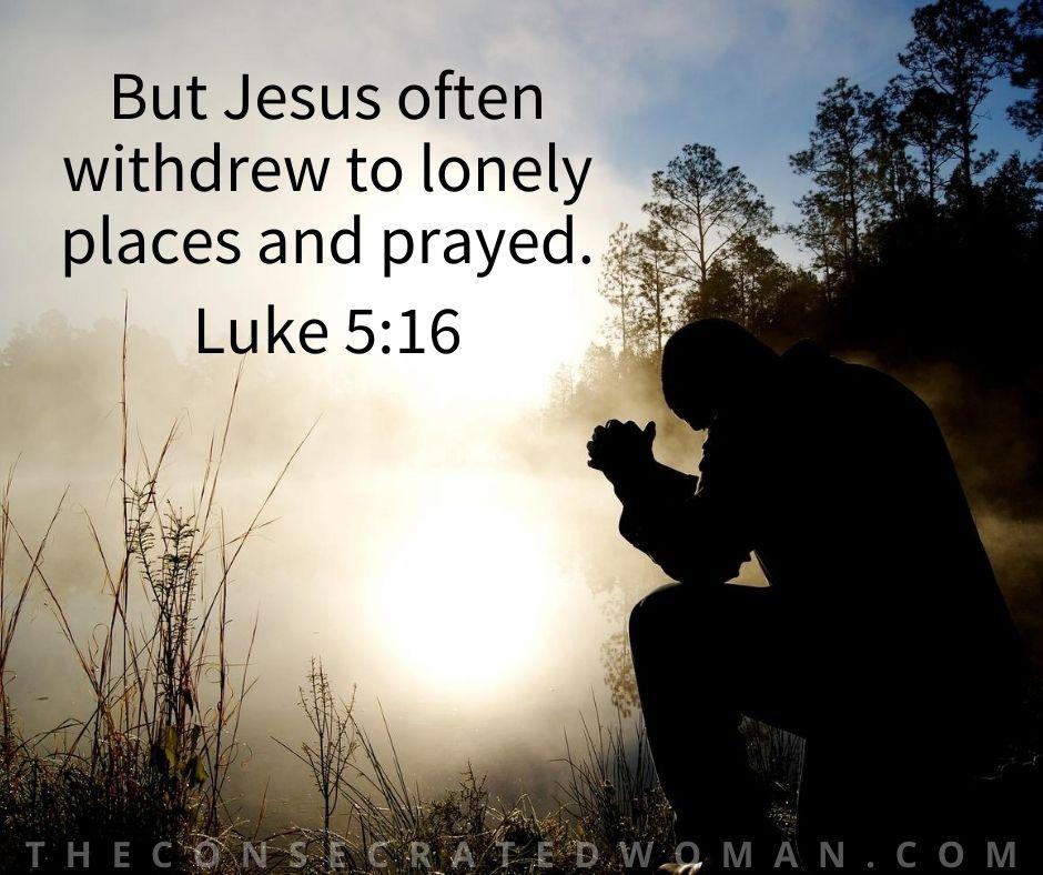Luke 5 16 2