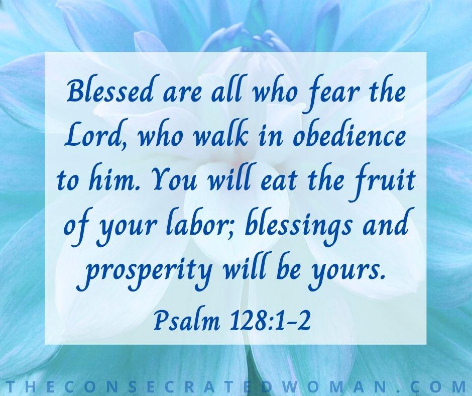 Psalm 128 1-2